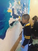 Ocean Lifeline Mural at School by the Sea